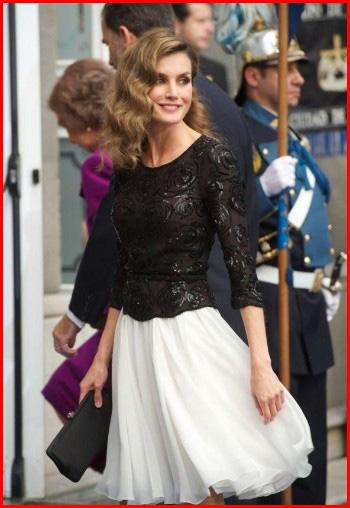 レティシア王妃 ファッション